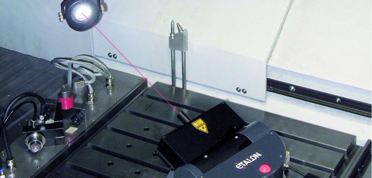contrôle des machines outils - laser tracer
