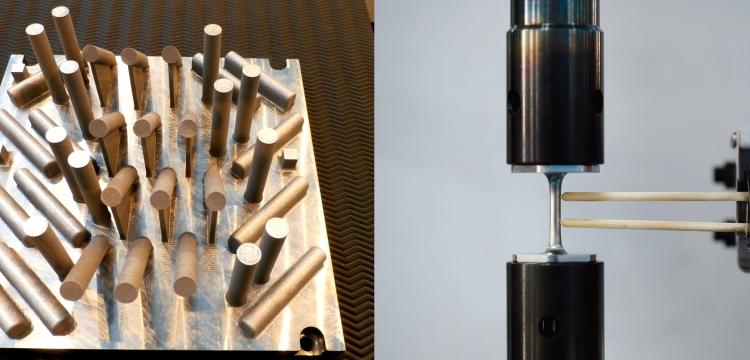 Fabrication additive : caractériser les matériaux
